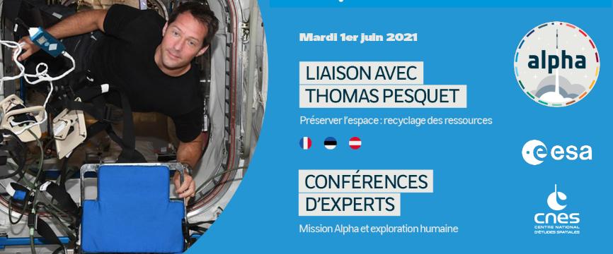 [Direct] Allô Thomas, ici le bureau ESERO France !