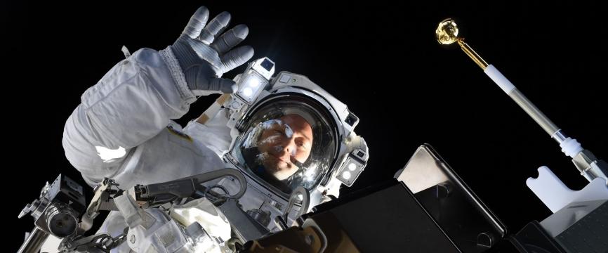 [Presse] Mission Alpha : point d'étape sur les expériences du CNES opérées par Thomas Pesquet