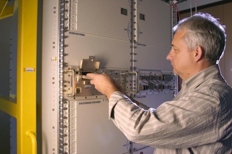 Baie EPM, acutellement à l'intérieur du laboratoire européen Columbus de l'ISS