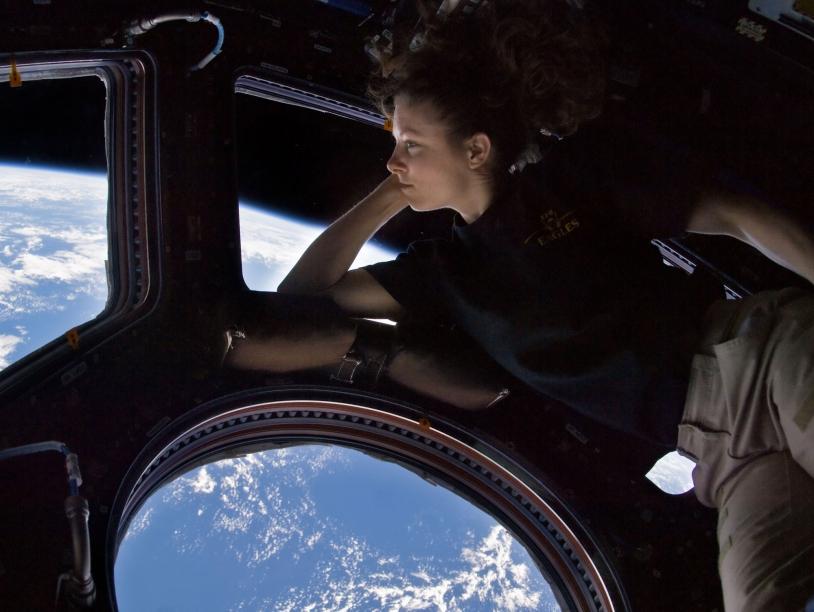 Intérieur de l'ISS