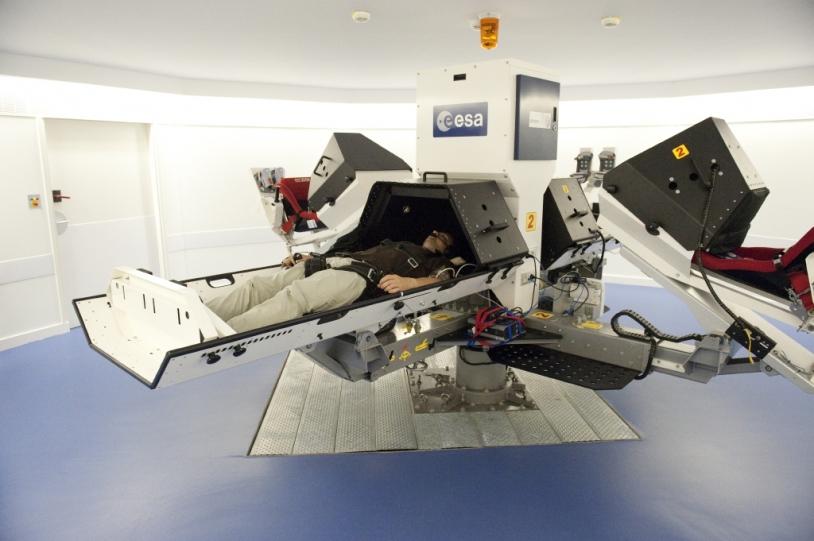 La centrifugeuse à bras court de la Clinique Saptiale du MEDES