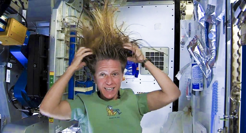 Proxima : la toilette à bord de l'ISS