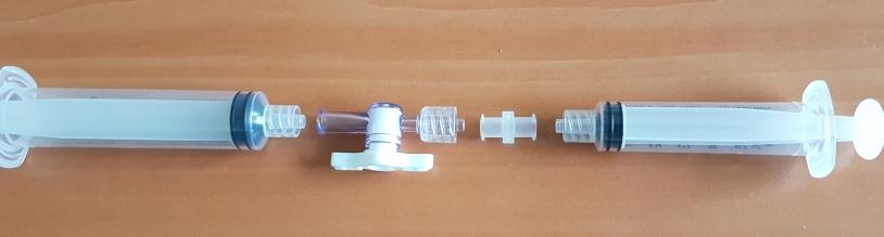 Montage des seringues CatalISS du kit EXO-ISS