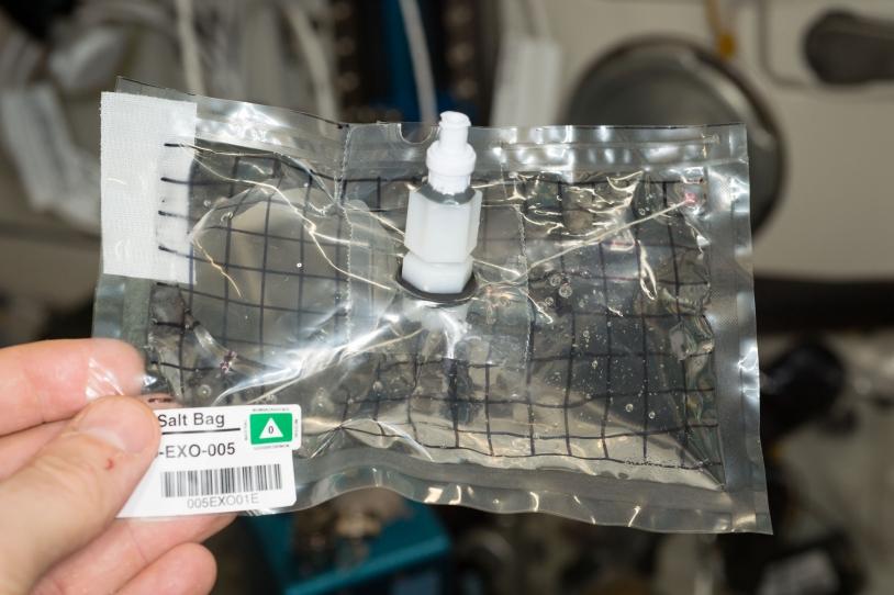 EXO-ISS : CrISStal jour 3 dans l'ISS