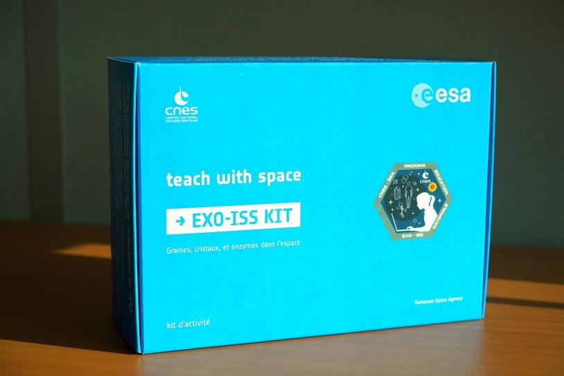 Kit EXO-ISS contenant les expériences CERES, CrISStal et CatalISS