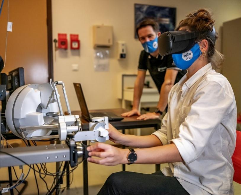 Simulation de l'expérience de neurosciences Pilote