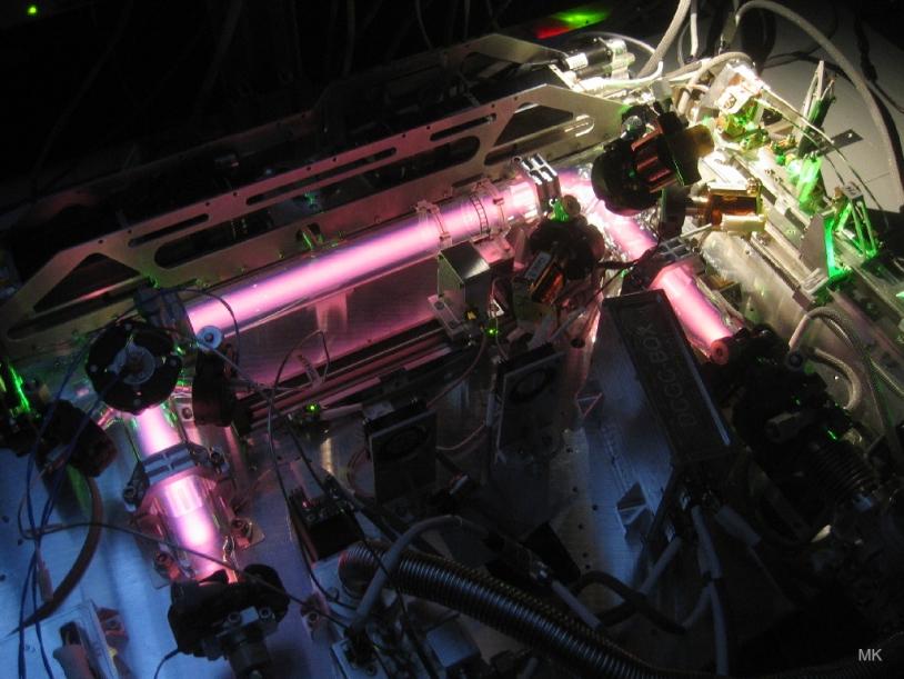Intérieur de l'instrument PK-4