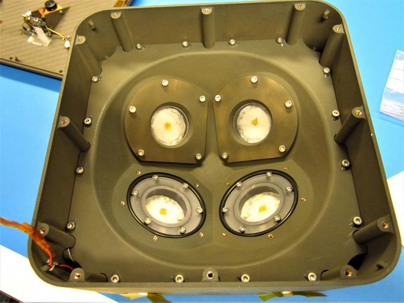 Intérieur de la blob box