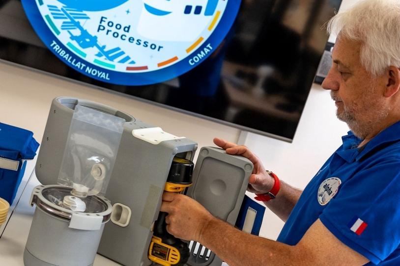 Prototype du robot culinaire Food Processor
